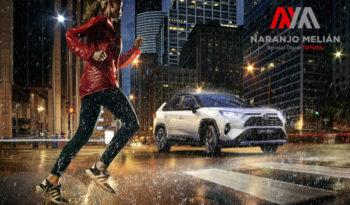 Toyota Rav4 Hybrid lleno